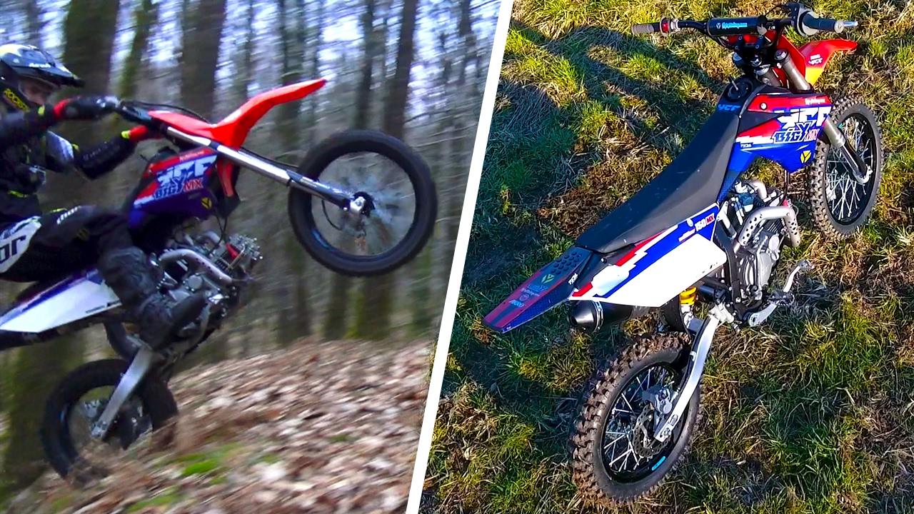 Ma Nouvelle Moto Ycf 150 Bigy Mx Factory Youtube
