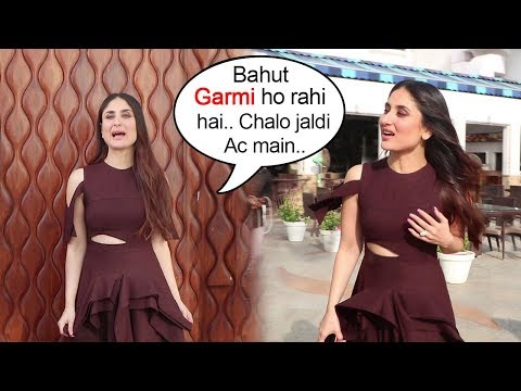Kareena Kapoor's STUPID Tantrums At Veere Di Wedding Promotions
