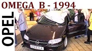 Opel Omega B Händlerpremiere 1994 Opel Autohaus - Opel Omega car dealer Premiere in...