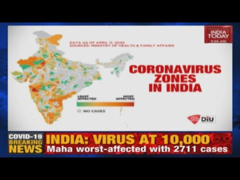 Coronavirus Zones In India: Most-Impacted Areas Due To COVID-19 Pandemic