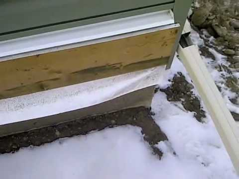 Deck Ledger Flashing Calgary Home Inspector Youtube