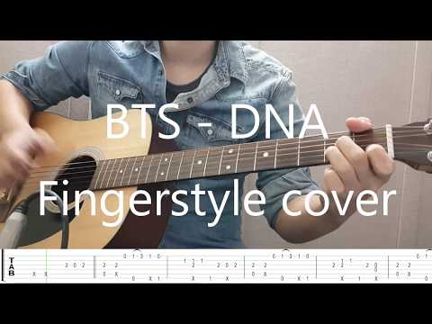 BTS (방탄소년단) - DNA Fingerstyle. Tab