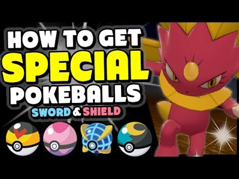 How To Get Apricorn, Beast And Dream Balls In Pokemon Sword And Shield