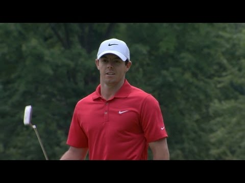 Rory McIlroy featured in LIVE@ The Barclays highlights from Round 1