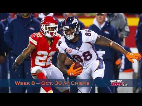 Denver Broncos 2017 regular season schedule