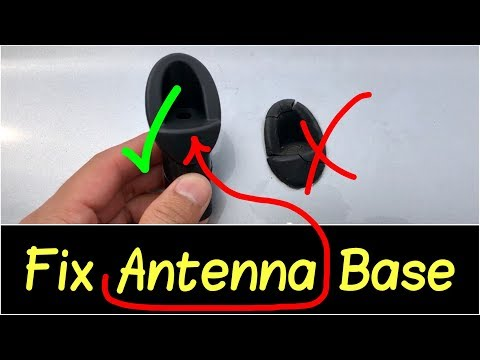 ✅how-to-fix-broken-antenna-mount-with-an-antenna-base-mount-replacement-on-a-toyota-tundra-2007-2013