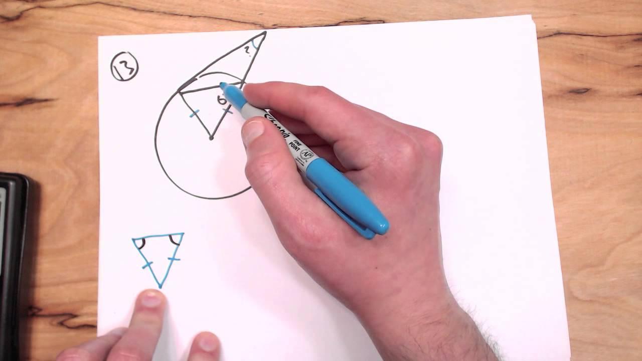 Kuta Tangents To Circles Worksheet 13 YouTube – Tangents to Circles Worksheet