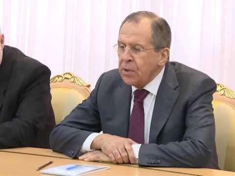С.Лавров и глава МИД Туркменистана Р.Мередов