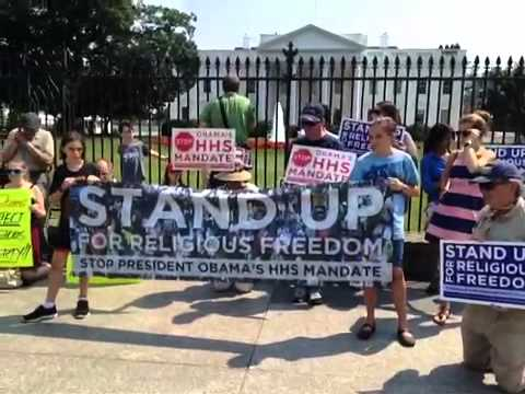 Stand Up for Religious Freedom August 1 2012