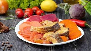 Как приготовить рыбу с овощами - Рецепты от Со Вкусом