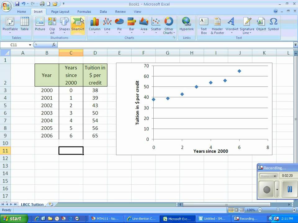 Linear regression in excel youtube ccuart Images