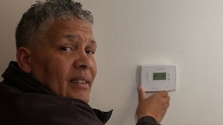 Installing a Programmable Thermostat: A DIY Expert Shows How It's Done
