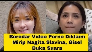 Beredar Video Porno Diklaim Mirip Nagita Slavina, Gisel Buka Suara