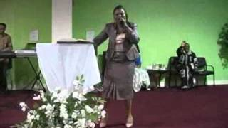 First Lady Pastor Honorine Essandjo ministers at M.E.S.S.I.E.'s Denver Branch 2011 part 2