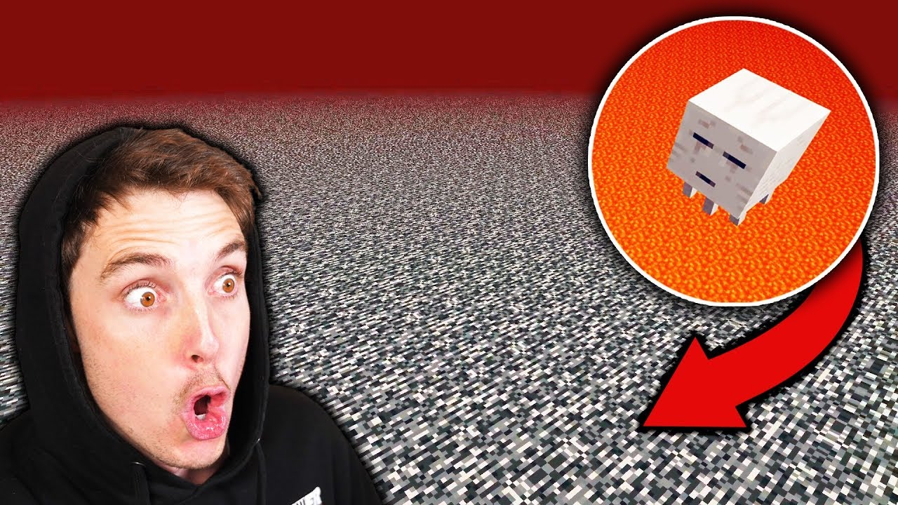 Going ABOVE THE NETHER in Minecraft thumbnail