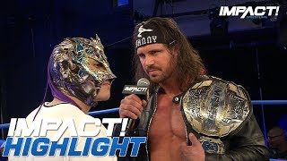 Fenix Issues a World Title Challenge to Johnny IMPACT | IMPACT! Highlights Oct 18, 2018