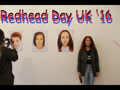 REDHEAD DAY UK 2016!!!