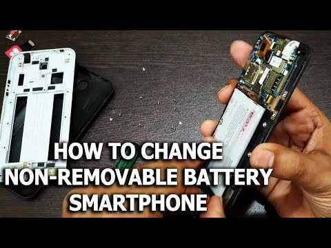 How to Change Non Removable Battery