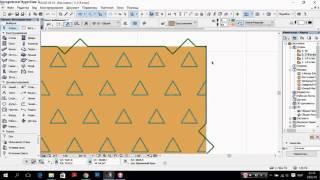 Архикад 18, урок для начинающих №2. 2D инструменты
