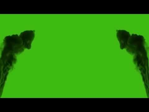 Green Screen - Smoke Coming From The Walls! - Cool Effect!