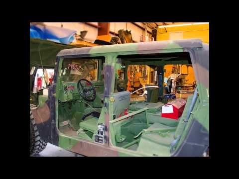 What Does it Take to Repaint a Hummer?