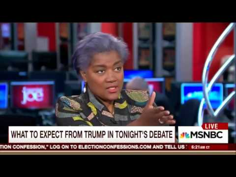Donna Brazile's Animated Appearance on Morning Joe
