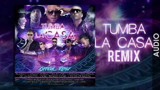Cover images ALEXIO - Tumba La Casa Remix ft. Daddy, Nicky Jam, Arcangel, Ñengo Flow, Zion, Farruko, De la Ghetto