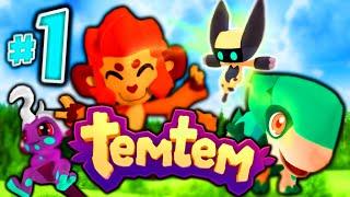 "Temtem - ""OUR ADVENTURE BEGINS!"" - Episode 1 (Pokemon Inspired MMO!)"