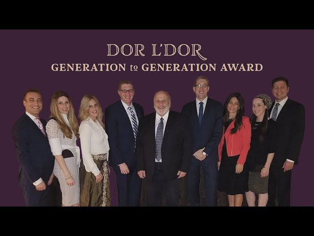 Dor L'Dor Generation to Generation: The Levine Family