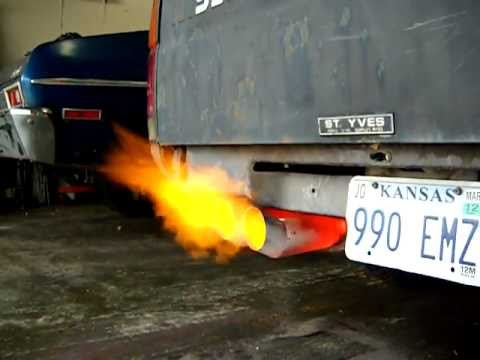 Flame Thrower Exhaust Home Made Youtube
