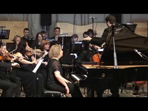 11.03.2017 Mira Marchenko performance at the Ufa Art College, Ufa