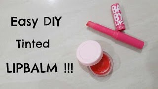 2 easy diy tinted lip balm recipes without beeswax