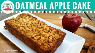 Mexican  Cinnamon APPLE CAKE  | Mexican Food - Spicy Latina Mom