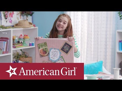 Blaire Wilson's Craft Corner | DIY Inspiration Board | American Girl