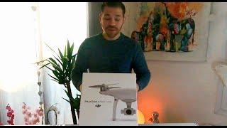 PRESENTATION DE MON DRONE DJI PHANTOM 4 PRO + V2.0 FR (UNBOXING)