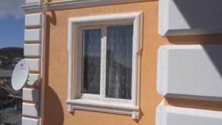 видео Фасадная лепнина из полиуретана