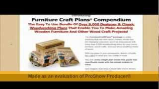 Furniture Craft Plans Free Download
