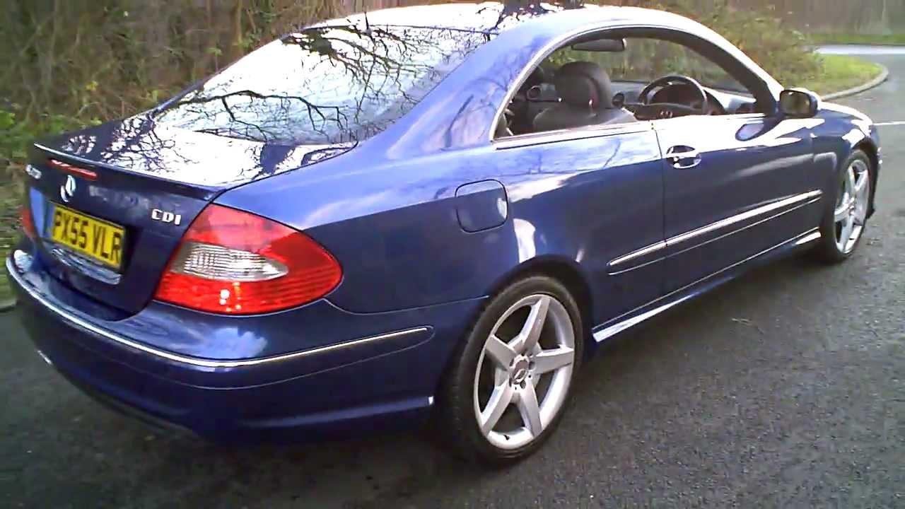 2005 55 Mercedes Clk320 Cdi Amg Sport Coupe Diesel Auto