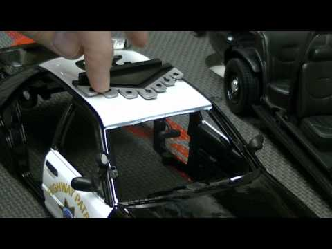 How to Prep a Motormax CHP Police Car 1:18 Scale Lights - ...