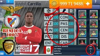 nuevo super hack benfica 100% dream league soccer 2017 + monedas infinitas sin root