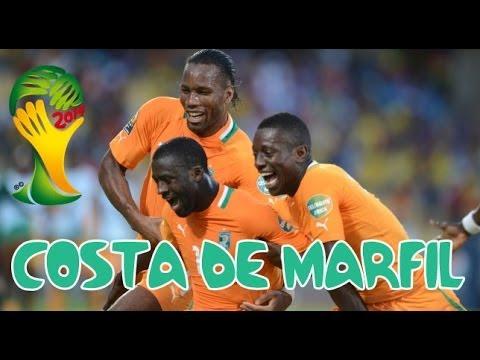 Mundial Brasil 2014 -  Costa de Marfil: Videoanálisis de la selección