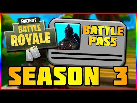 SEASON 3 BATTLE PASS INFO | Fortnite Battle Royale