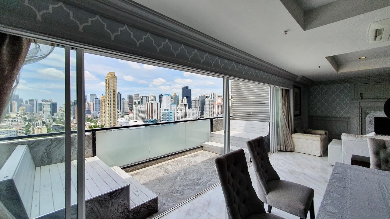 Renovated Spacious 4 Bedroom Apartment Bangkok For Rent Kiarti Thanee 260 sqm 120,000 THB monthly