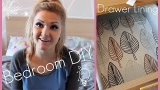 ☮ Bedroom Diy - Drawer Lining | Moneka ☮