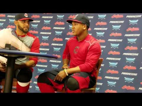 Danny Salazar Jose Ramirez post-game press conference 5/6/16
