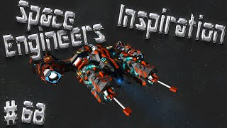 Space Engineers Inspiration - Episode 68: TALON Fighters, Wayfarer MK II, & Valkyrie