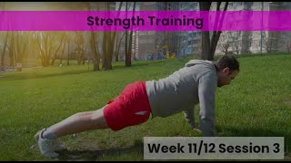 Strength - Week 11&12 Session 3 (mHealth)