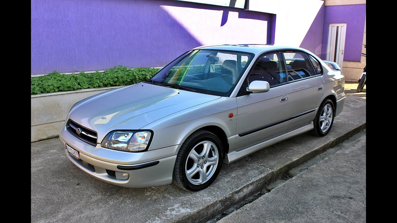 Limited Sedan >> Subaru Legacy 1999 2.5 Limited Sedan 156hp - YouTube