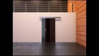 Раздвижная система открывания дверей в салонах