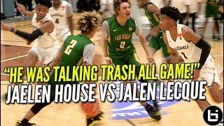 That Shadow Mountain Boy Jaelen House Vs Jalen Lecque! Battle at Nike EYBL! Ballislife Highlights thumbnail
